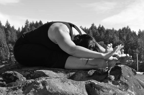 Lyndsay Savage, Savage Lamb Yoga, Salt Spring Island